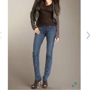 Paige Blue Heights Skinny Jeans Size 28~like new!